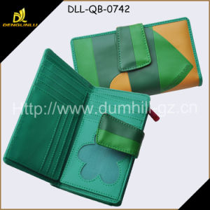 Silk Screen Printing PU Wallet Purse Fashion Foldable Wallet pictures & photos
