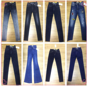 Cuff Urban Denim Jeans (HS-28101T) pictures & photos