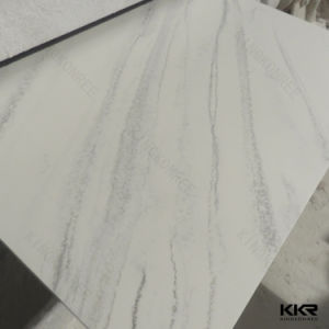 textured marble veinining pattern acrylic solid surface shower wall panels