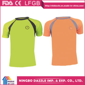 Polyester Sport Quick Dry Night Running T Shirt pictures & photos