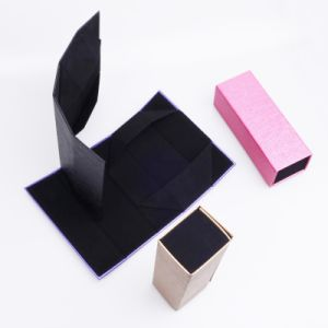 Handmade Flat Folding Rigid Box with Magnet Close pictures & photos