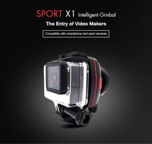 Wenpod X1 Mini Wearable Gopro Cheap 1 Single Axis Gimbal Stabilizer for Smartphone Camera pictures & photos