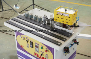 New Type Double-Face Gluing Curved&Straight Edge Banding Machine Fbj-888 pictures & photos