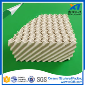 High Acid Resistance Ceramic Structured Tower Packing pictures & photos