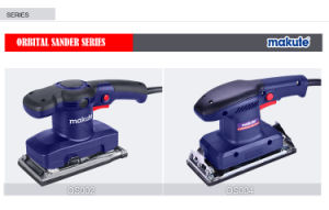 Makute 480W Professional Orbital Sander (OS002) pictures & photos