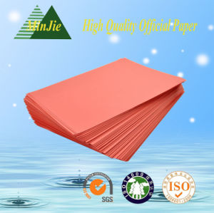 High Quality A4 or A3 Colorful Copy Paper Manufacturer pictures & photos