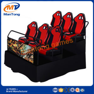 Mantong Hydraulic/Electronic Theme Park Luxury Seats 5D Cinema pictures & photos