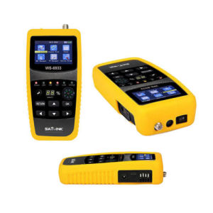 Satellite Finder Satlink Ws 6933 Support FTA and Blindscan Channels DVB-S2 Flashlight and Compass pictures & photos