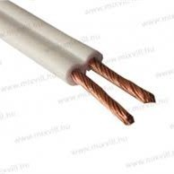 Twin Flat Electrical Wire 0.5 0.75 SQMM H03VH pictures & photos