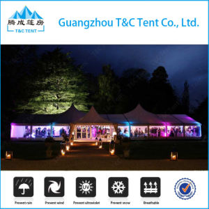 Factory High Quality Aluminum High Peak Mixed Tent for Celebration pictures & photos