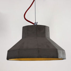 Nordic Retro Industrial Cement Pendant Light for Hotel/Balcony pictures & photos