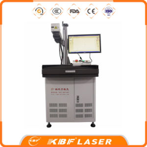 China 20W Table Fiber Laser Marking Machine with Laptop pictures & photos