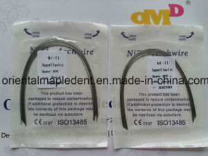 Orthodontic Super Elastic Niti Archwire (Round) pictures & photos