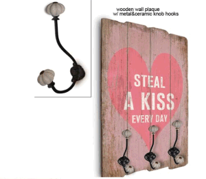 Wood Wall Decor & Hooks Rails & Clothes Hanger pictures & photos