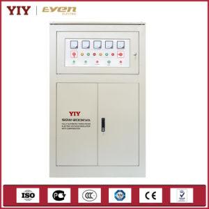100kVA Three Phase AC Voltage Regulator Servo Voltage Stavbilzier 380V pictures & photos