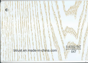 Wood Grain PVC Deco Foil for Furniture/Cabinet/Door Hot Laminate/Vacuum Membrane Press Bgl043-048 pictures & photos