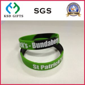 Cheap Custom Debossed/Embossed/Print Silicon/Silicone Wristband (KSD-938) pictures & photos
