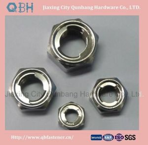 DIN980 Type V Metal Lock Nuts with Coarse Thread pictures & photos