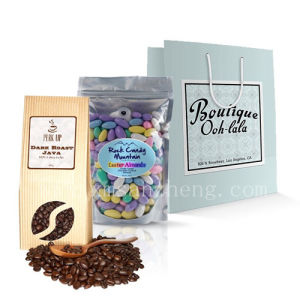 Custom Water Resistant Sticky Full Color High Quality Bag Packageing Stickers pictures & photos