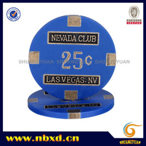 16g Nevada Club Las Vages Metal Chip, Sy-F01-1 pictures & photos