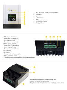 MPPT 50A 48V/36V/24V/12V Max-PV 2900W Solar Charge Controller Sch-50A pictures & photos