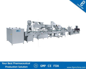 Capsule Bottling Line, Tablet Filling&Counting&Sticker Labeling Machine pictures & photos