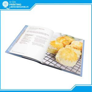 Sewing Bound Hardcover Luxurious Cookbook Printing pictures & photos