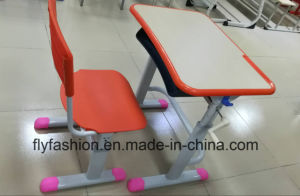 Single Desk with PP Chair School Classroom Table pictures & photos