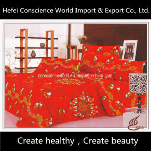 100%Cotton Active Printed Bedding Set for Wedding pictures & photos