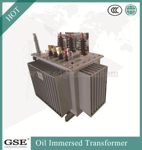 Three-Phase Double-Wingding Oil-Immersed Distribution Transformers with off-Circuit Tap Changer pictures & photos