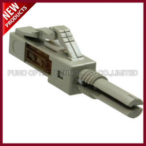Aqua 2.0mm 3.0mm Fiber Optic LC Multimode OM3 Epoxy Connectors pictures & photos