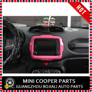 Auto Accessory ABS Material Pink Style Central Trim for Renegade Model (1PC/SET) pictures & photos