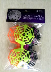 Halloween Spider Web Plastic Glasses (PM118) pictures & photos