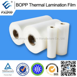Transparent and Soft BOPP Thermal Lamination Films pictures & photos