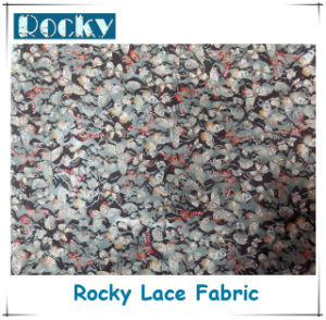 Home Textile Fashion Polyester Lace Print Lace Fabric pictures & photos
