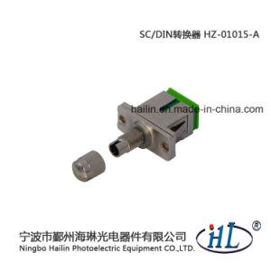 Sc-DIN Sm/APC Fiber Optic Adapter for Instrumentation Equipment pictures & photos