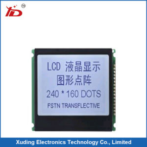 240*160 Stn LCM with Blue Background Used for Electrombile pictures & photos