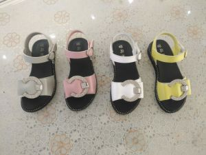 Children Sandals Kid′s Sandals Fashion Leather pictures & photos