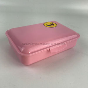 Promotional Eco-Friendly PP Lunch Box with Customized Logo pictures & photos