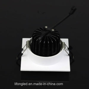 Hotel Selling in Germany Adjustable Square 10W COB LED Downlight with Ce pictures & photos