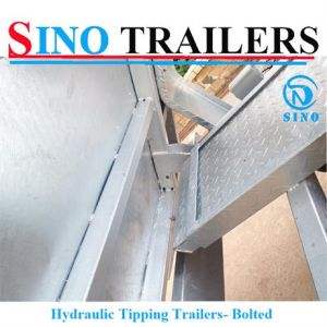High Payload Drop Down Side Tipping Trailer