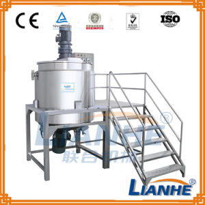 Shampoo Mixing/Making Machine with Homogenizer Emulsifier pictures & photos