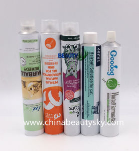 Pets Food Packaging Medical Ointment Gel Empty Aluminium Collapsible Tubbe pictures & photos