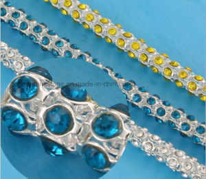 Shoes Rinestones Cup Chain Trim Rhinestone Banding Rhinestone Trimming (TCG-ss28) pictures & photos