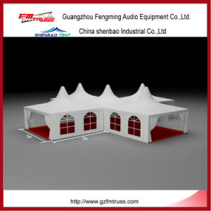 Waterproof UV Pagoda Tent 5X5m for Wedding Parties pictures & photos