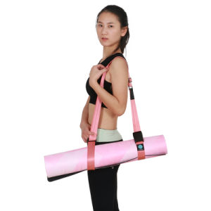 Pilates Yoga Mat Suede Top Natural Tree Rubber Yoga Mat Wholesale pictures & photos
