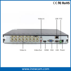 16CH 3MP Ahd/Tvi CCTV Standalone DVR From CCTV Cameras Suppliers pictures & photos