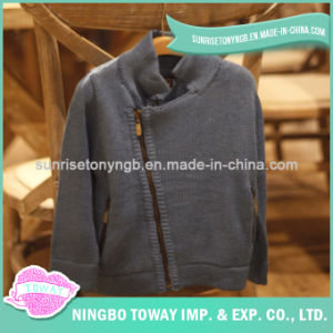 Knitted Toddler Winter Jackets Kids Cardigan Children Wool Sweater pictures & photos