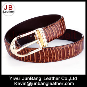 2018 Fashion Smart Leather Belt for Men Pin Buckle pictures & photos