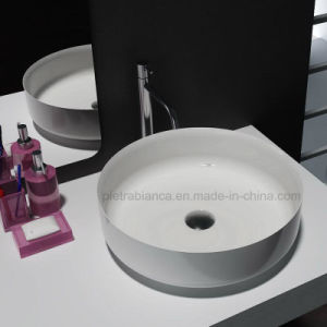 Furniture Solid Surface Bathroom Wash Basin (PB2122-360) pictures & photos